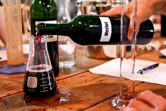 assemblage de vins laboratoire