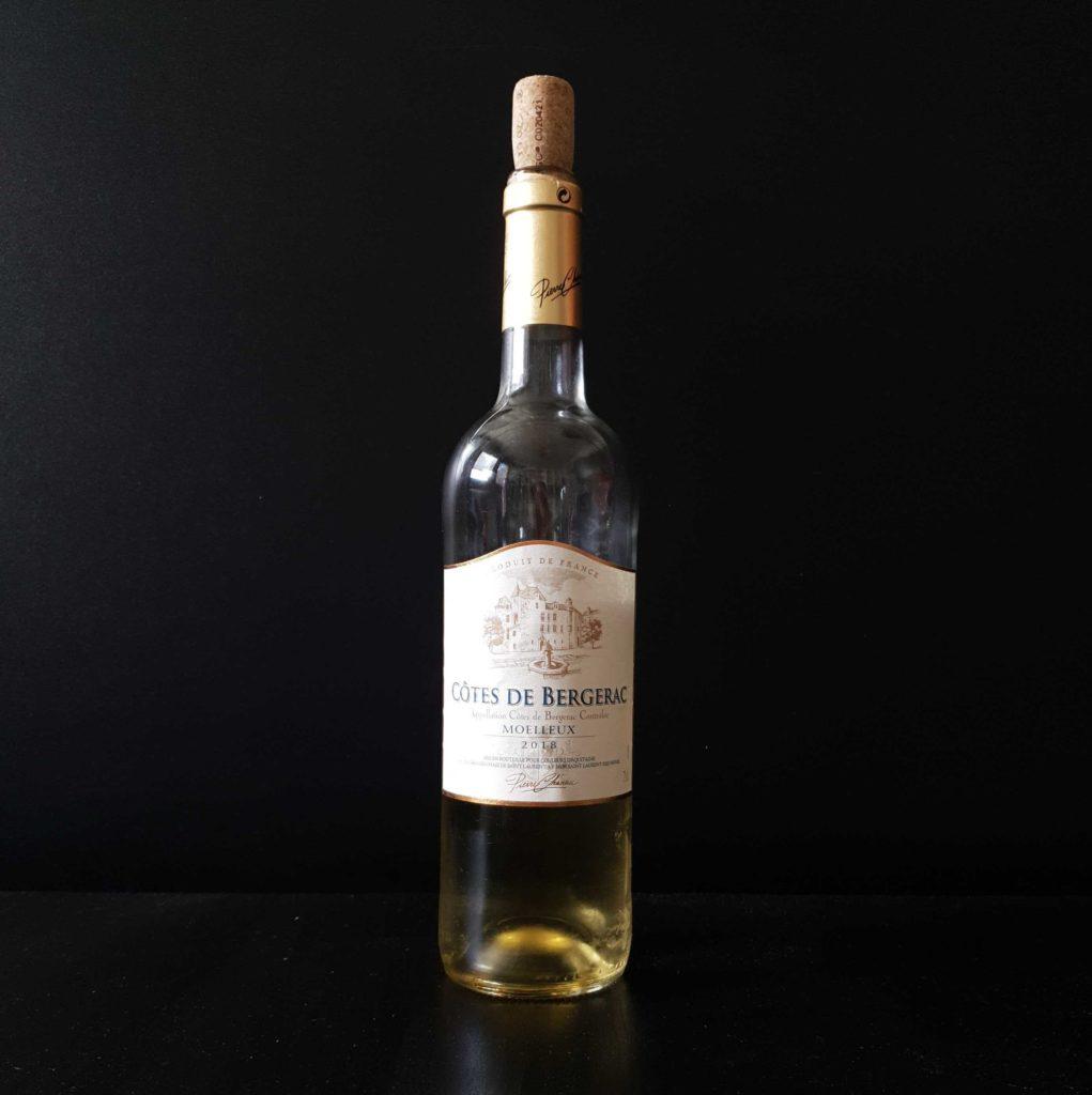 Photo d'une bouteille de Côtes de Bergerac Moëlleux