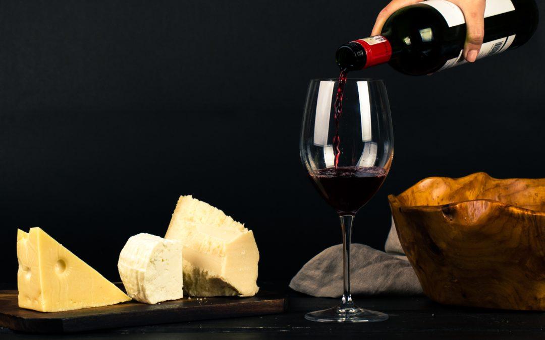 Photo accord bière et vin avec le fromage