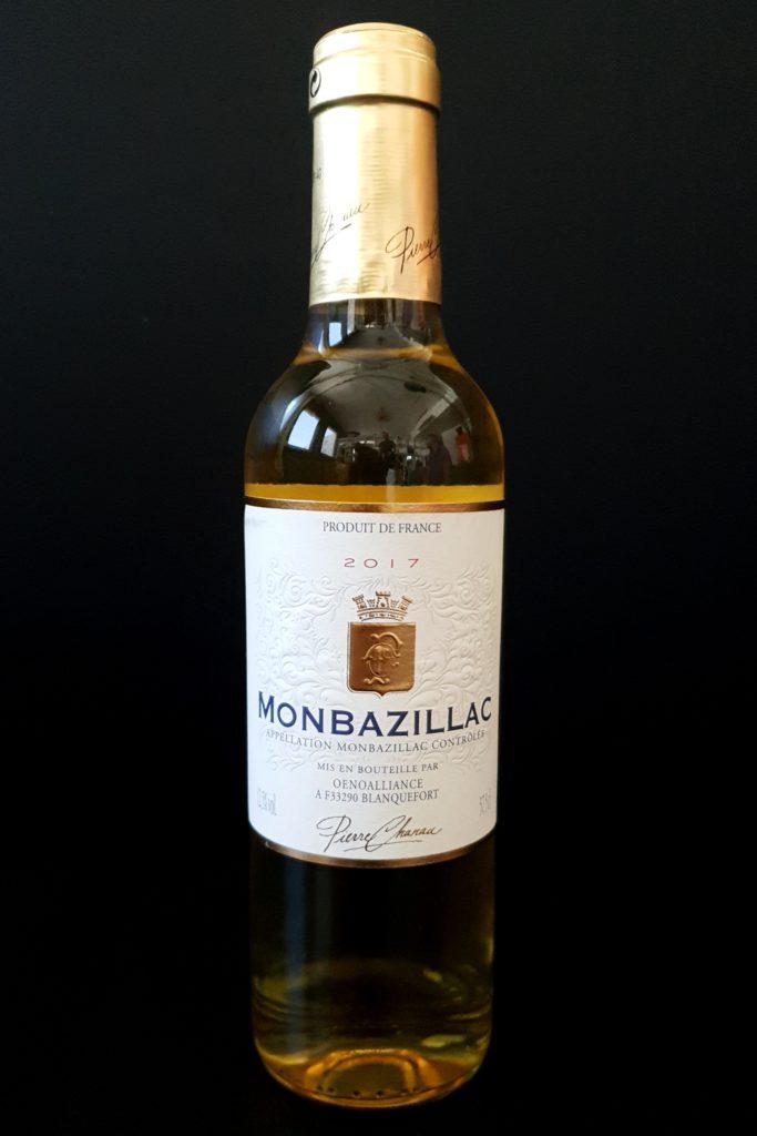Monbazillac vin blanc liquoreux