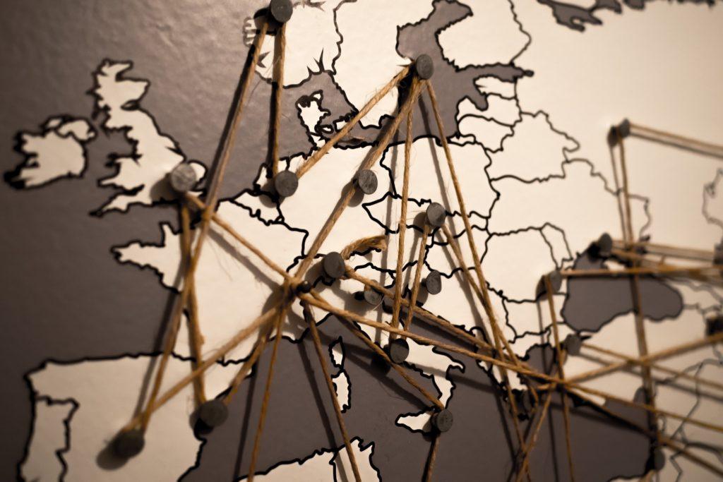 carte du monde des destinations effectuées