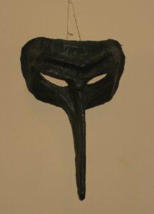 Masque théâtre comedia dell'arte