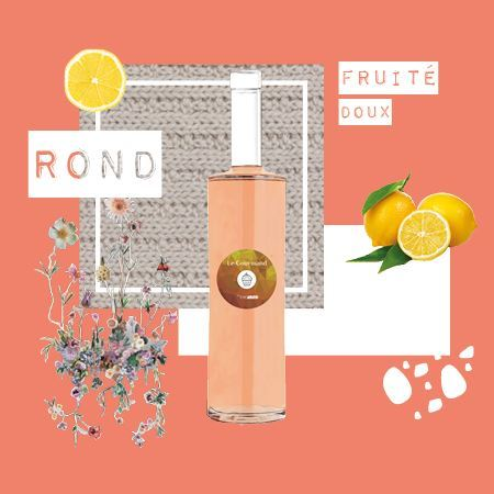 rosé le Gourmand Edovino cover