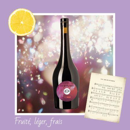 vin rouge le Séducteur Edovino cover