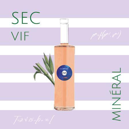 rosé le Sérieux Edovino cover