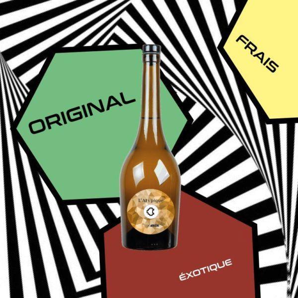 Vin Blanc l'Atypique Edovino cover