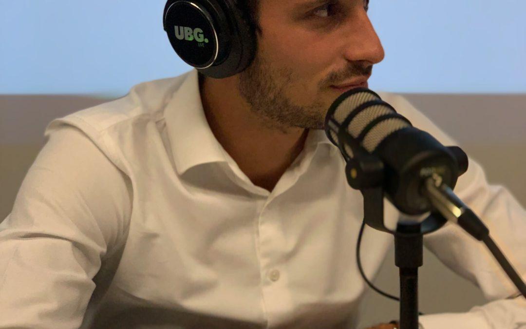 Jérémy Paille en interview radio