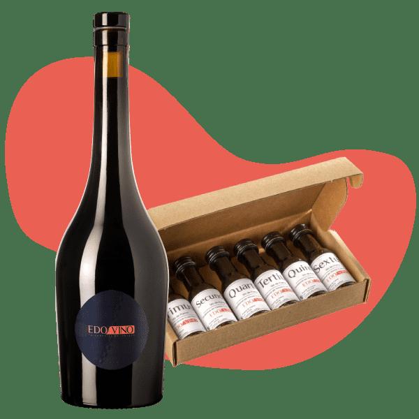 Vin sur mesure mignonnettes dégustation Edovino