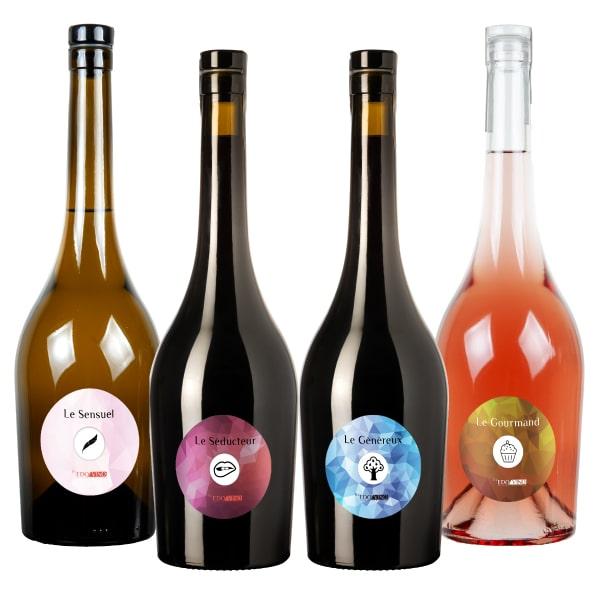 Pack vin de personnalité Léger Edovino