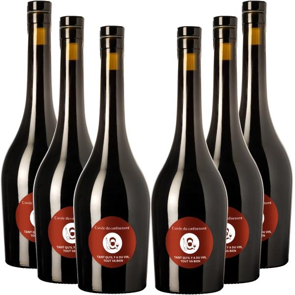 Pack vin confinement rouge Edovino